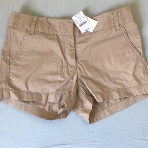 JCrew Khaki Chino Shorts